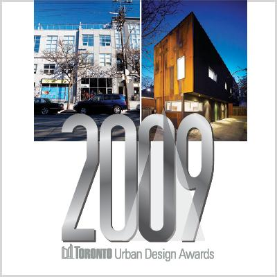 Toronto Urban Design Awards 2009