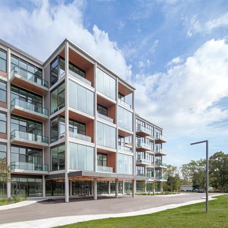 adaptive reuse Bata Shoe Factory project refurbishment into residential apartments