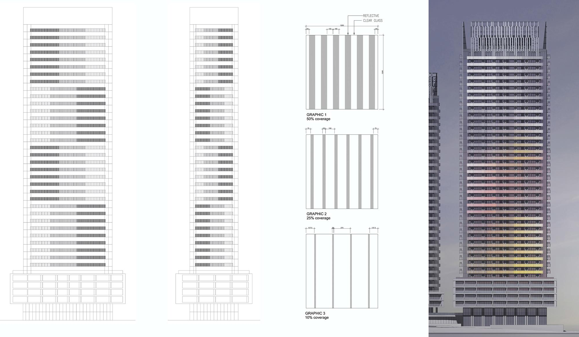 process image showing elevation drawings of The Wynford