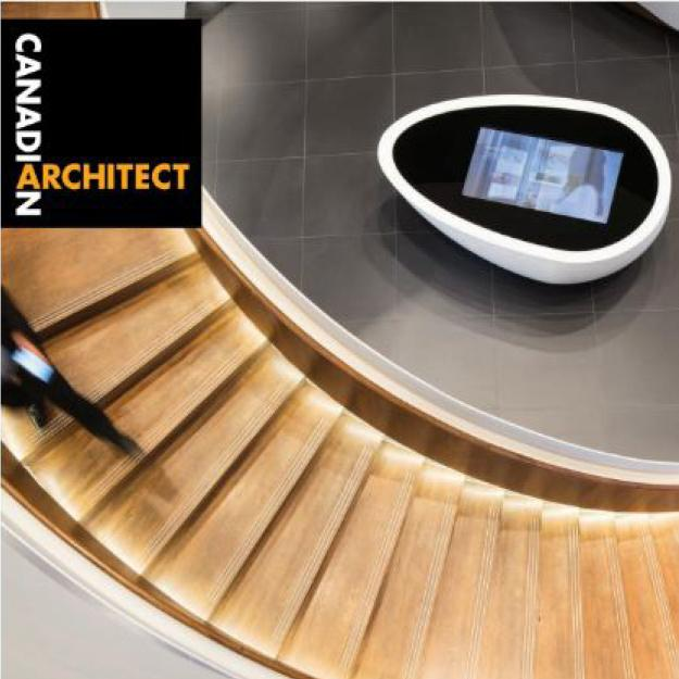 Canadian Architect cover story on Samsung Experience Store