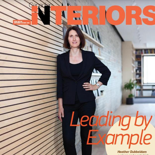 cover of Canadian Interiors magazine