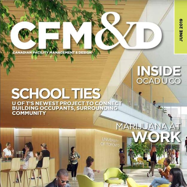 cover of the June 2019 CFM&D magazine