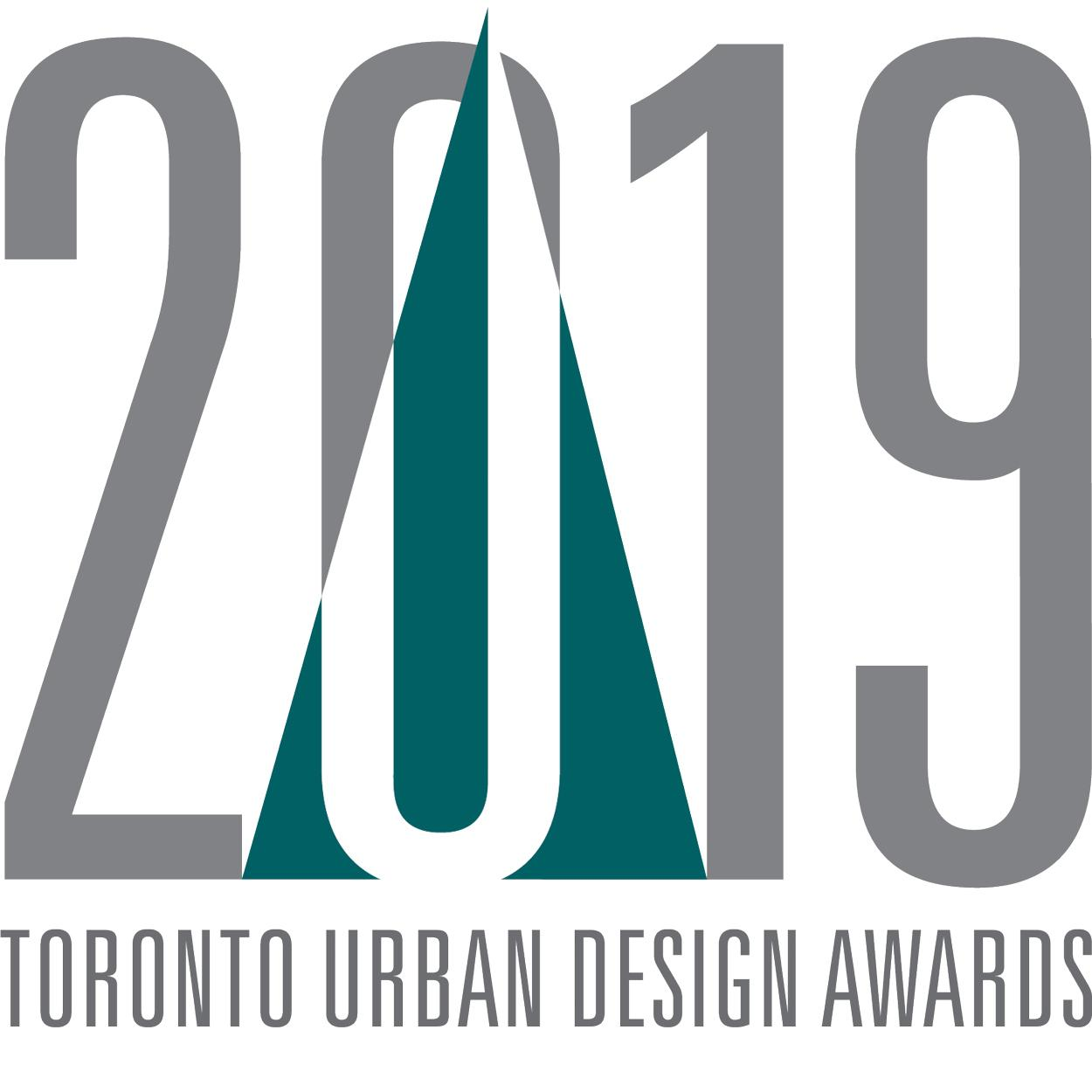 Toronto Urban Design Awards 2019 logo