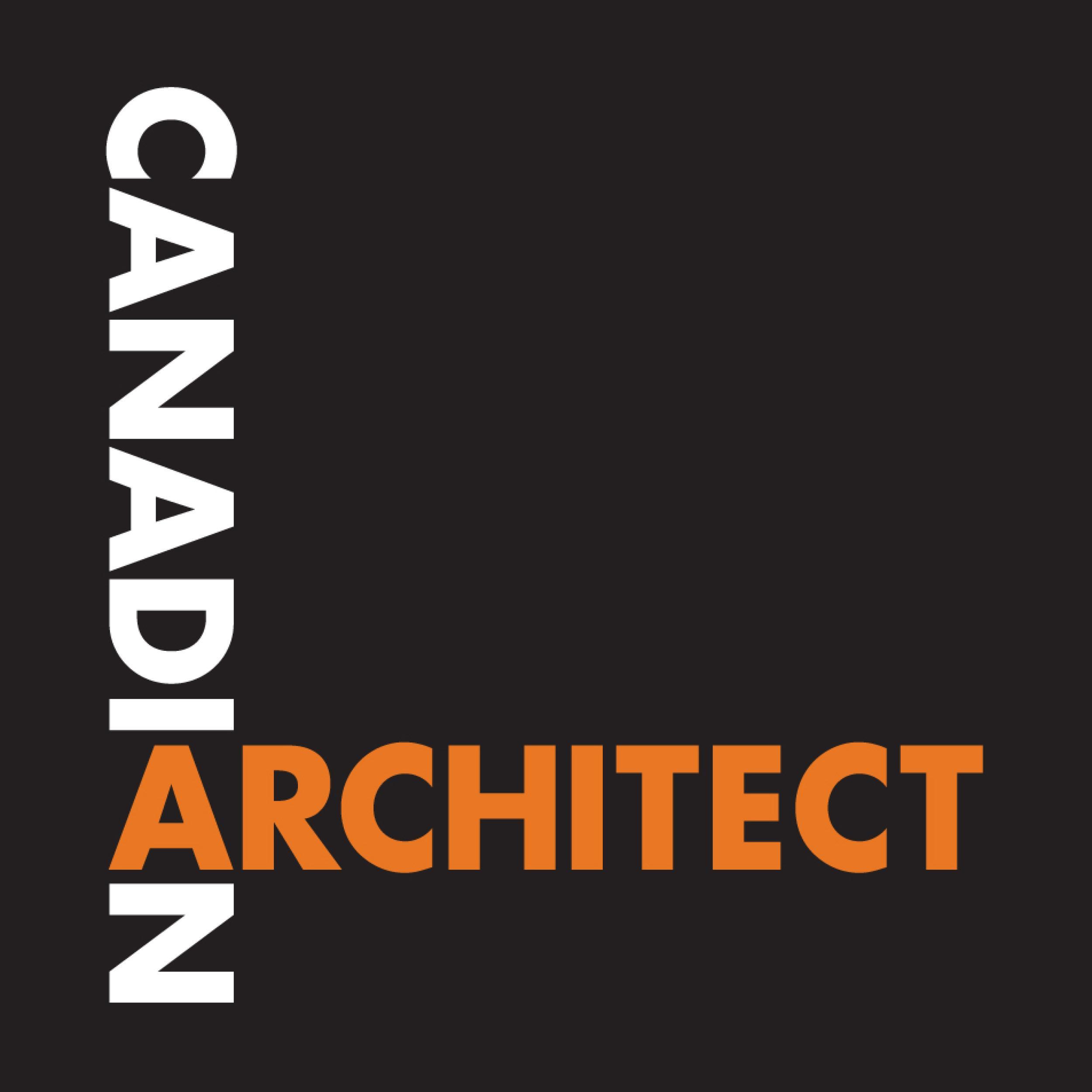 Canadian Architect magazine logo