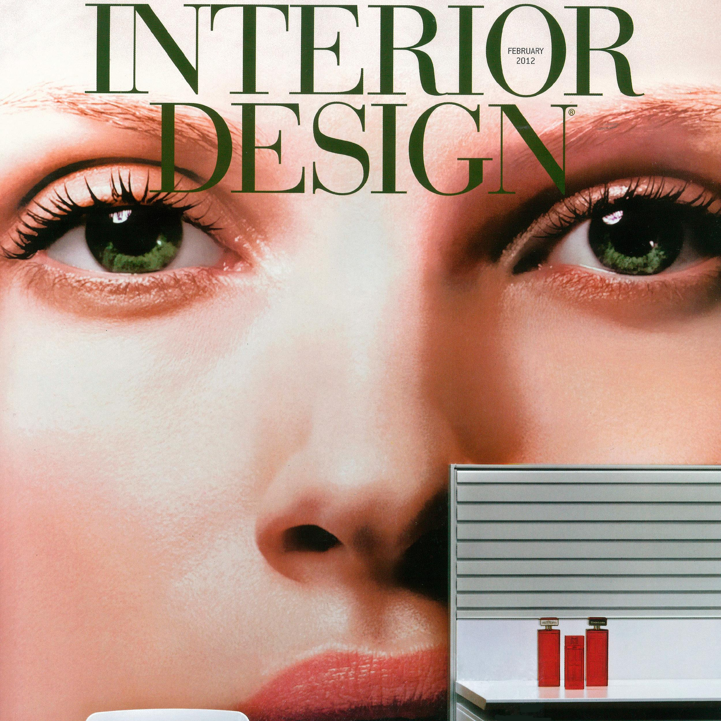 cover of Interior Design magazine February 2012 issue