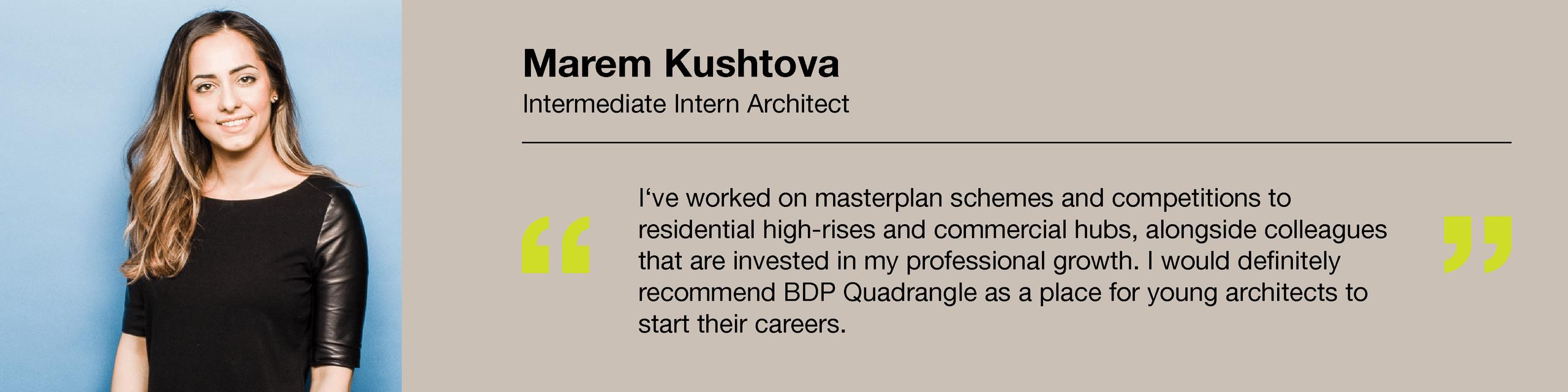 Testimonials - Marem Kushtova