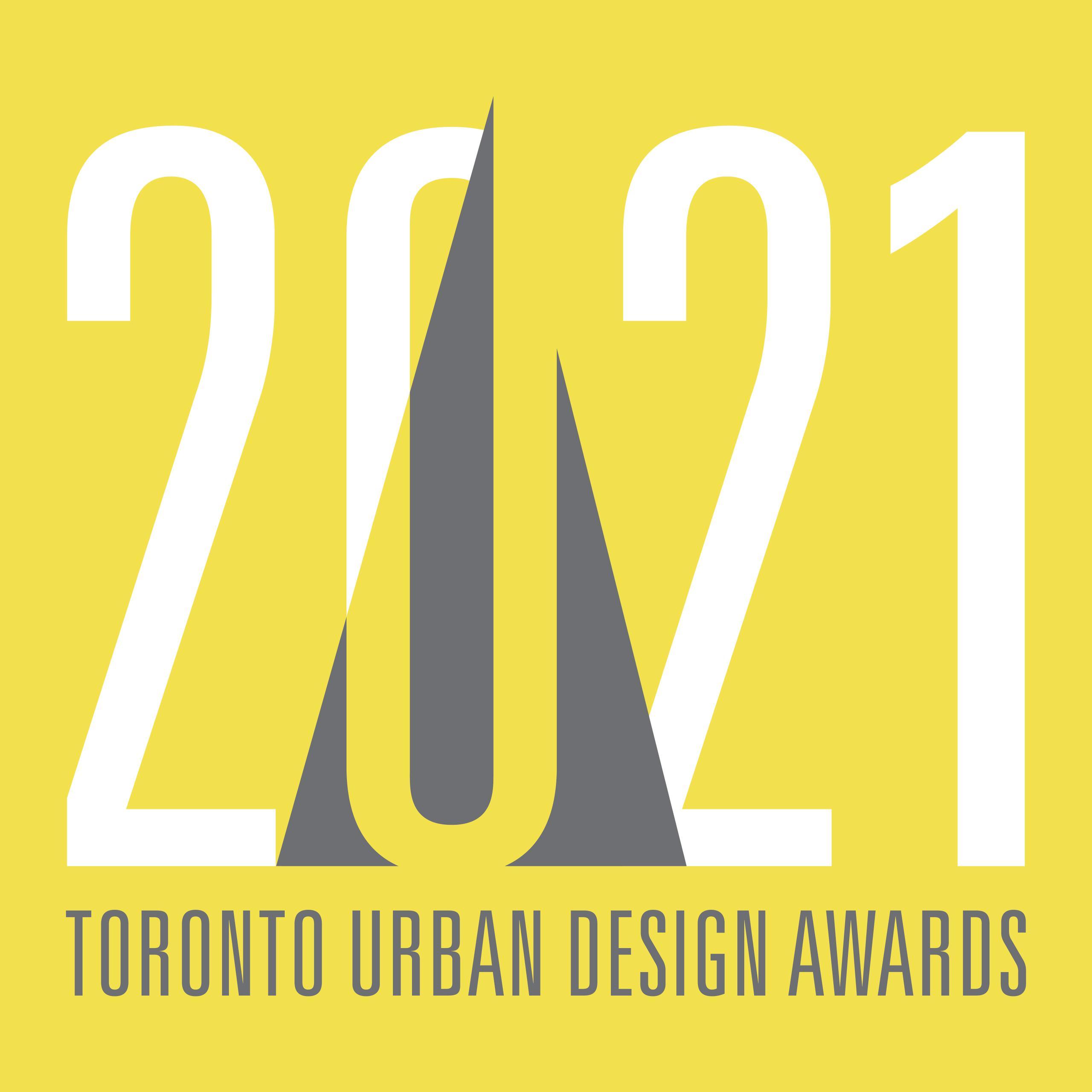 Toronto Urban Design Awards 2021 logo