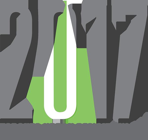 logo of the 2017 Toronto Urban Design Awards