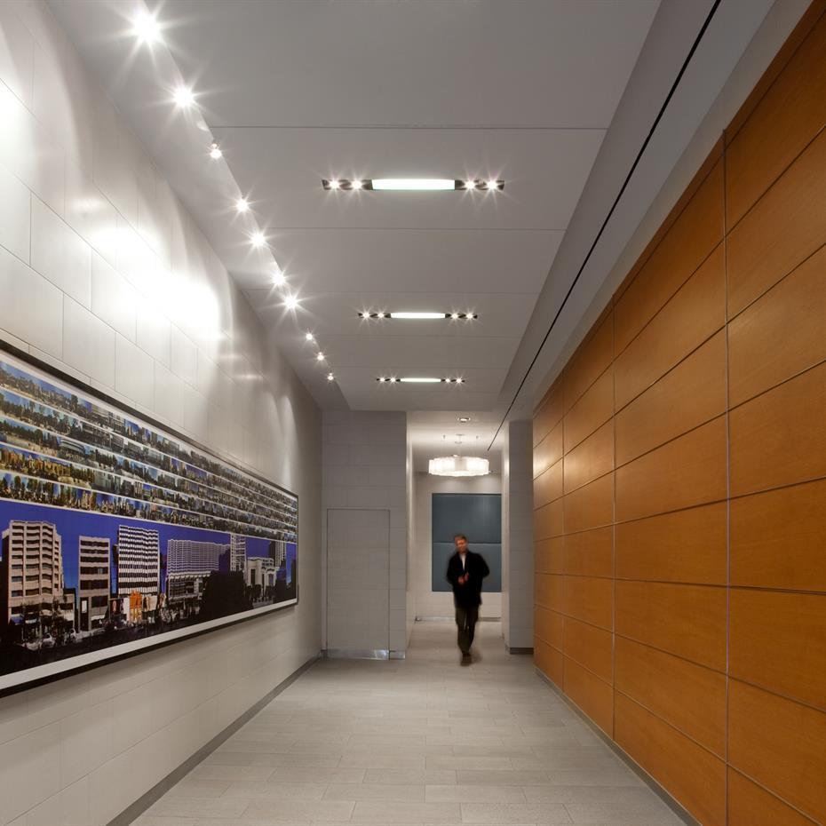 Interior corridor.