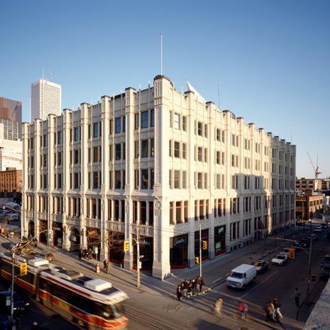 299 Queen Street West building façade.