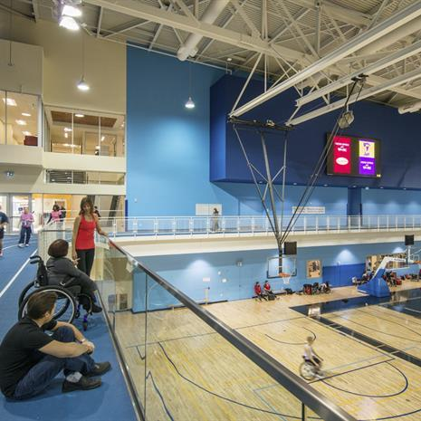 Training facility for Pan Am and Parapan Am Venues