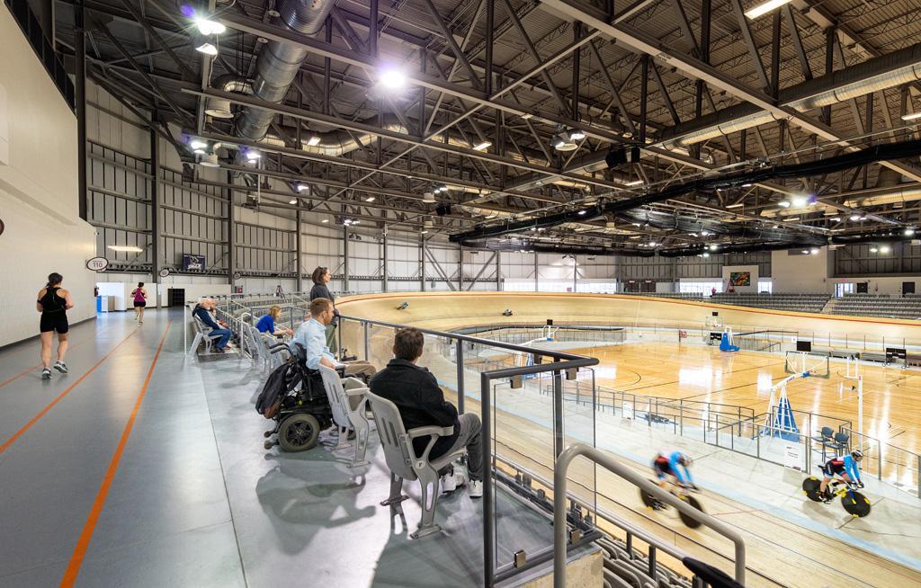 Accessible seating at Pan Am and Parapan Am venue