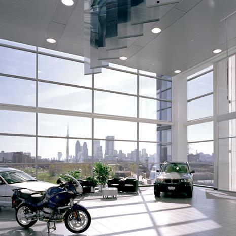 BMW Toronto showroom.