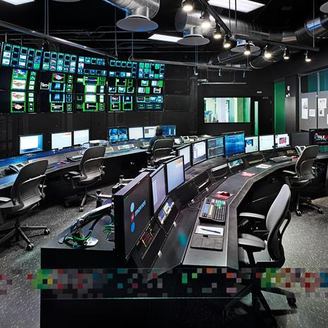 Media studio at Corus Entertainment