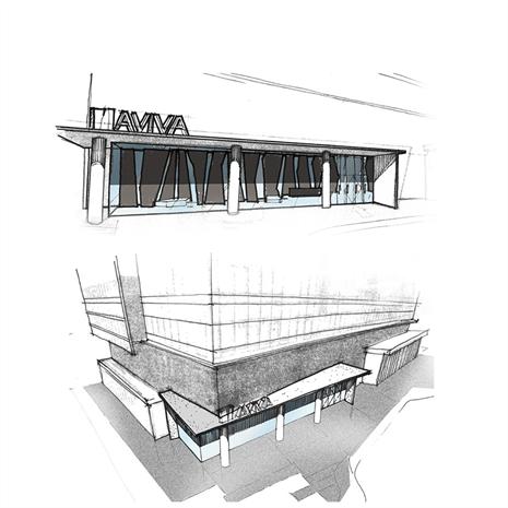 sketch of aviva