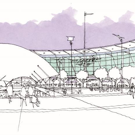 Liverpool One Sketch