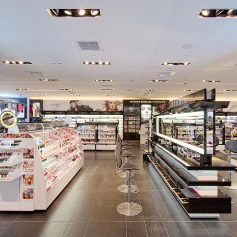 Sephora sales floor.