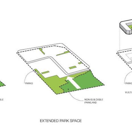 Site diagram of Vaughan Masterplan